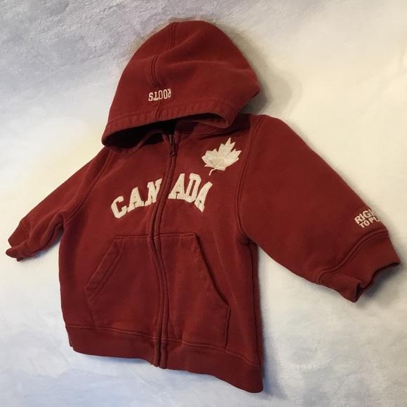 Roots 🇨🇦 Canada hooded sweatshirt